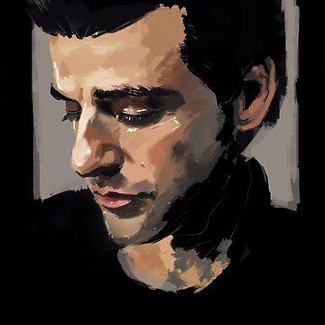Oscar Isaac Portrait by Superfizz