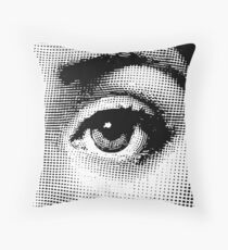Eye of Lina Cavalieri 02 Throw Pillow