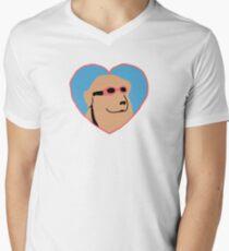 goggles doggo Men's V-Neck T-Shirt