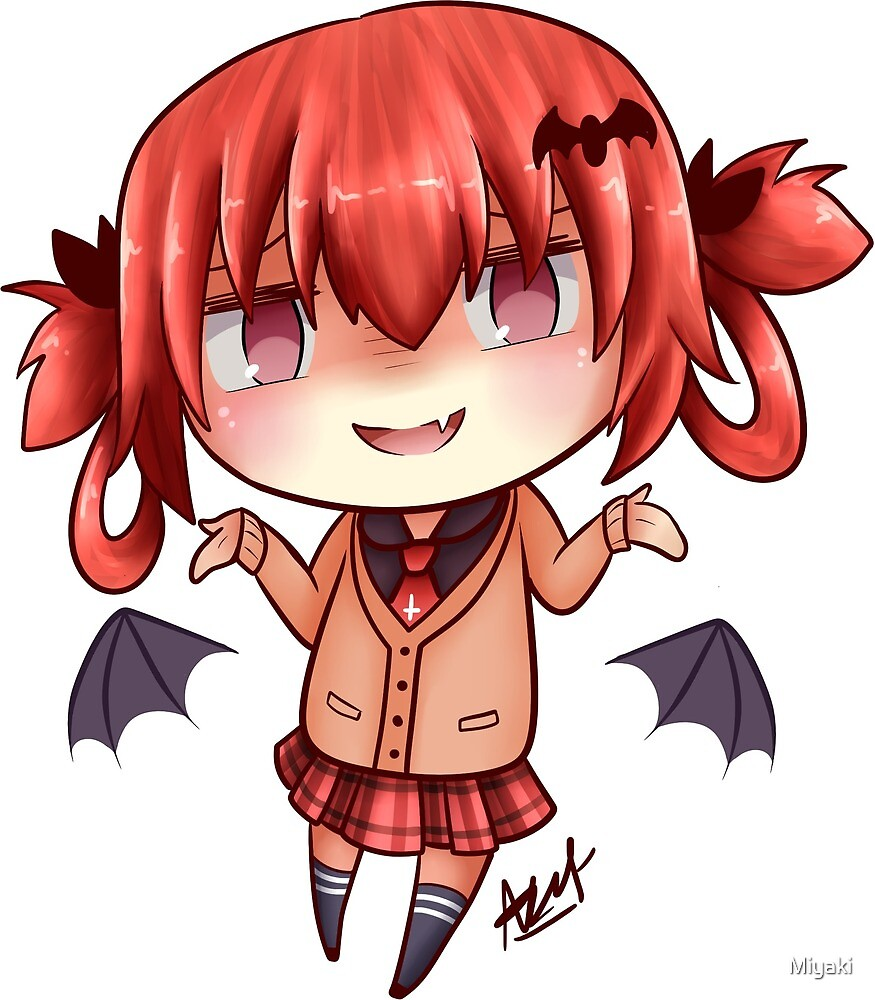 satania smug by miyaki redbubble