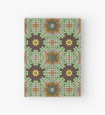 Grandma's knitted squares No 4. Hardcover Journal