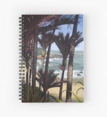 Majestic New Zealand Nikau Palms Spiral Notebook