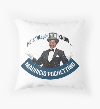 He's MAGIC, You Know Throw Pillow