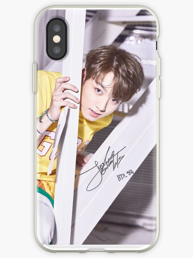 best loved c6c5e f173f 'BTS phone case #51 (jungkook)' iPhone Case by parkjimin