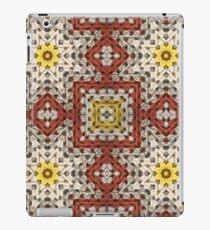 Grandma's knitted square No 3. iPad Case/Skin