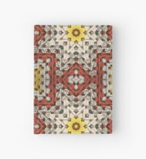 Grandma's knitted square No 3. Hardcover Journal