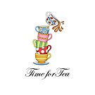 Time for Tea!!! by Catherine Hamilton-Veal  ©