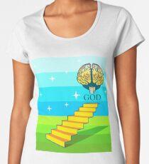 Stairs to God Women's Premium T-Shirt