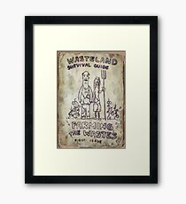 Fallout 4 Wasteland Survival Guide #1 Farming The Wastes Framed Print