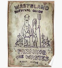 Fallout 4 Wasteland Survival Guide #1 Farming The Wastes Poster