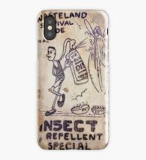 Fallout 4 Wasteland Survival Guide #2 Insect Repellent Special iPhone Case/Skin