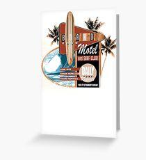 surf motel Greeting Card