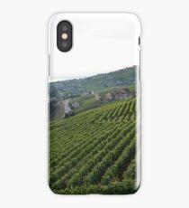Green vineyards on lake Geneva  iPhone Case/Skin