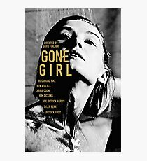 GONE GIRL 4 Photographic Print