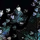 Blue Leaves by Lozzle