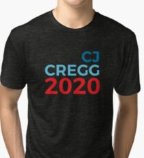 CJ Cregg 2020 / The West Wing / 2020 Election Tri-blend T-Shirt