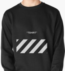 OFF-WHITE Inspired Simple Wording Illustration  Pullover