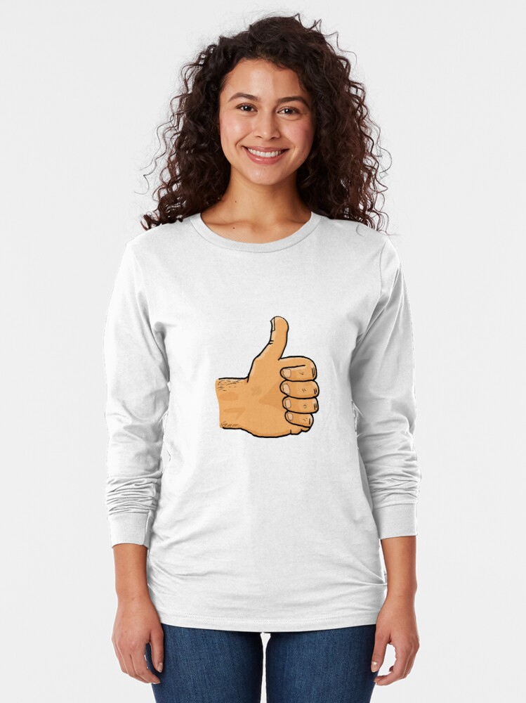 Alternate view of Thumbs Up Mate Long Sleeve T-Shirt