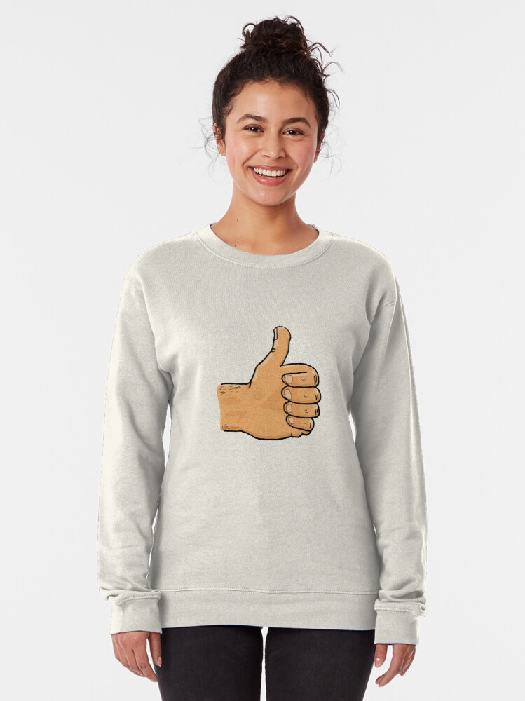 Alternate view of Thumbs Up Mate Pullover Sweatshirt