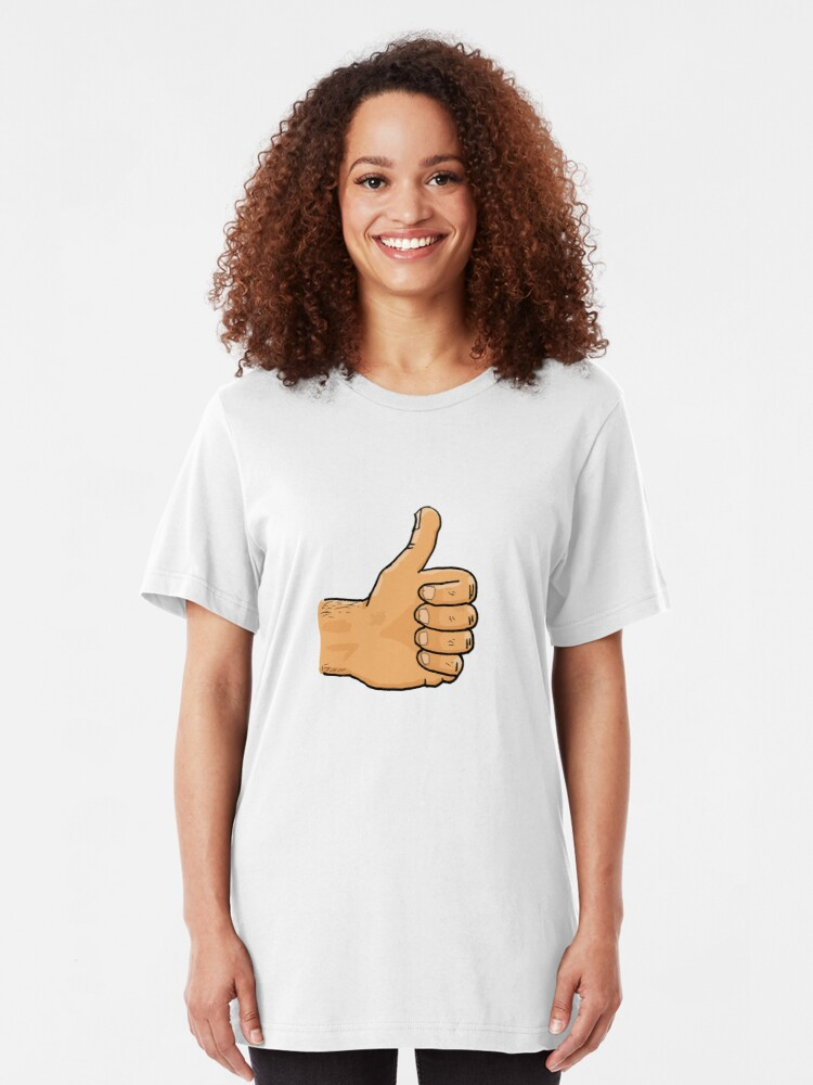 Alternate view of Thumbs Up Mate Slim Fit T-Shirt
