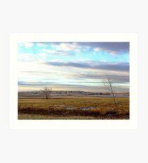 The Prairies (1) Art Print