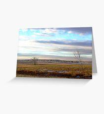 The Prairies (1) Greeting Card