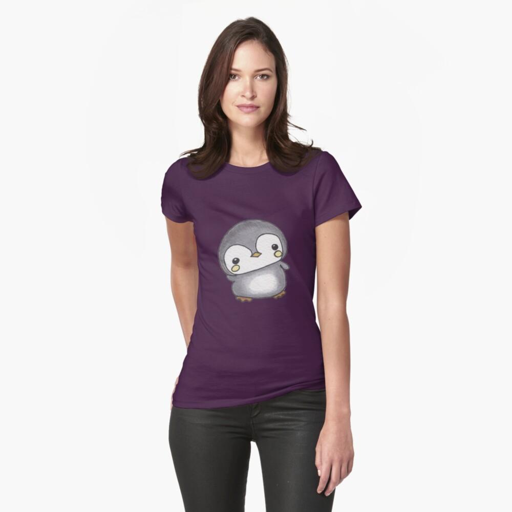 Chubby Penguin Womens T-Shirt Front
