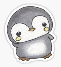 Chubby Penguin Sticker
