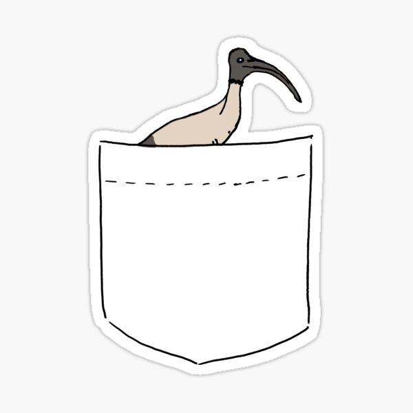 Pocket Bin Chicken Sticker