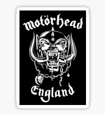 Motorhead England Logo - Pillow/Duvet Cover/Graphic T-Shirt/Sticker/And Tons More! Sticker