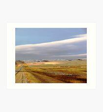 The Prairies (2) Art Print