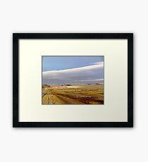 The Prairies (2) Framed Print