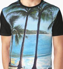 Long Island Beach, Australia Graphic T-Shirt