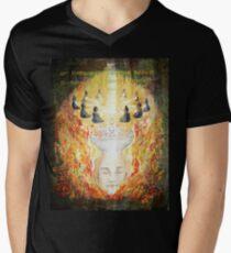 Dissolving  Men's V-Neck T-Shirt