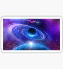Space Journey Sticker