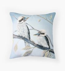 Cool Kookaburras Throw Pillow