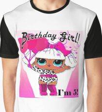 LOL Surprise Birthday - Diva - 5 years old Graphic T-Shirt