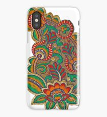 Green Paisley iPhone Case/Skin