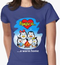 Family of penguins. Family is... T-Shirt