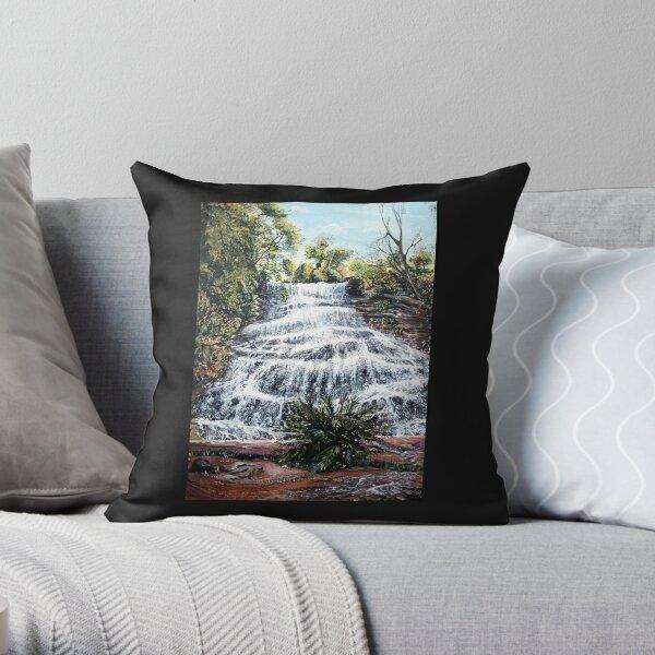 Katoomba Falls, Blue Mountains Australia Throw Pillow
