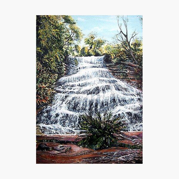 Katoomba Falls, Blue Mountains Australia Photographic Print
