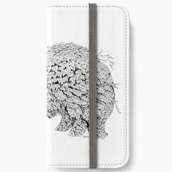 Leaf Badger iPhone Wallet