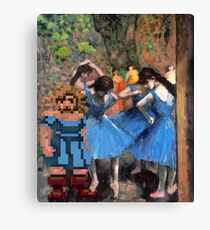 Guybrush dancer in blue Canvas Print