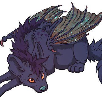 Galactic Drago-Yena: Purple by Zelaphas