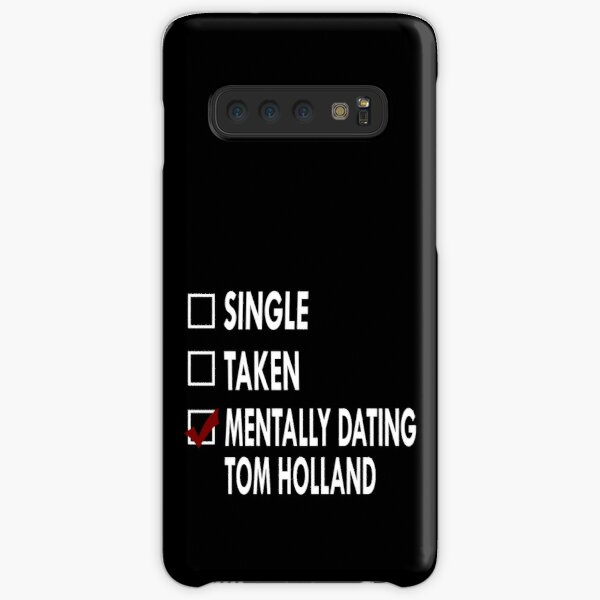 Dating Tom Holland Samsung Galaxy Snap Case