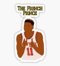 "Frank Ntilikina ""The French Prince"" Sticker"