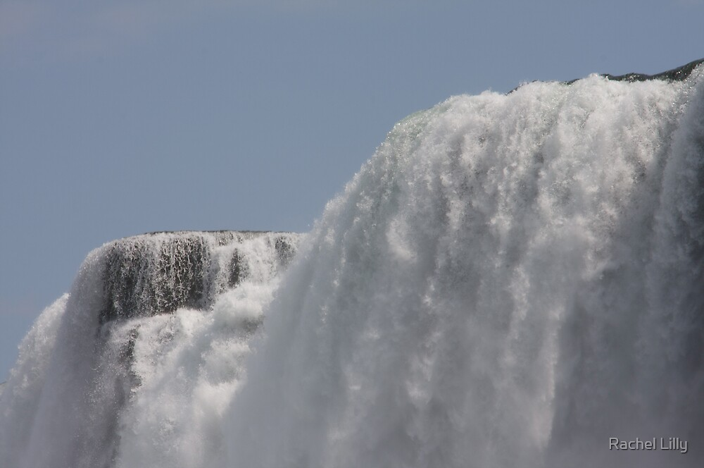 Looking up at Niagara - Canadian Horseshoe by Rachel Lilly