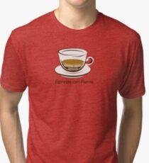 Espresso con Panna Tri-blend T-Shirt
