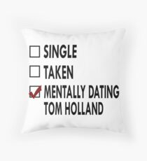Dating Mr Holland Throw Pillow