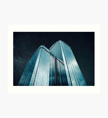 Stadt aus Glas (1983) Kunstdruck